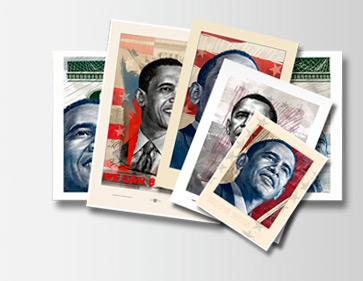 'Obama' Celebration Print Set