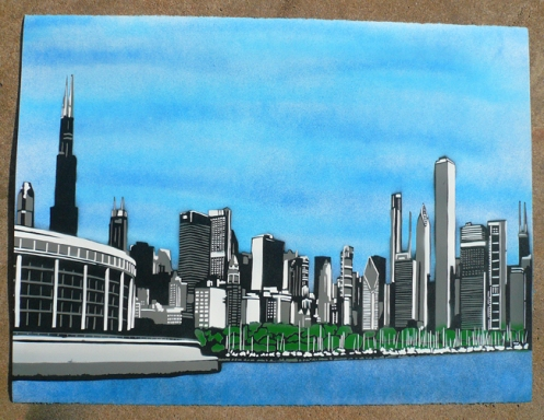 Solidarity In Chicago Edition of 15 Size 30 x 22 $90 Each