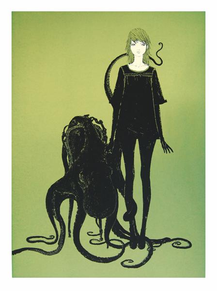 Barnaby Ward 'Bosley' Green Edition of 50 Size: 56 x 75cm £85 Each