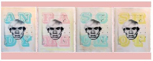 Eine 'Dirty Warhol' Edition of 50 Size: 58 x 67cm £400 Set or £115 Each
