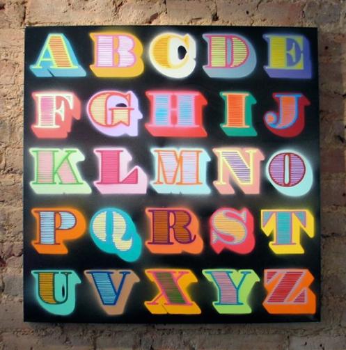 Eine 'Shutter Font' Edition of 150