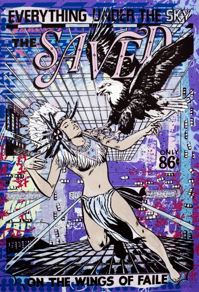 Faile 'Everything Under The Sky' Edition of 20 Size: 25 x 38 Inches $2800 Each
