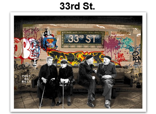 Mr Brainwash '33rd St' Edition of 50 Size: 30 x 22 Inches $125 Each