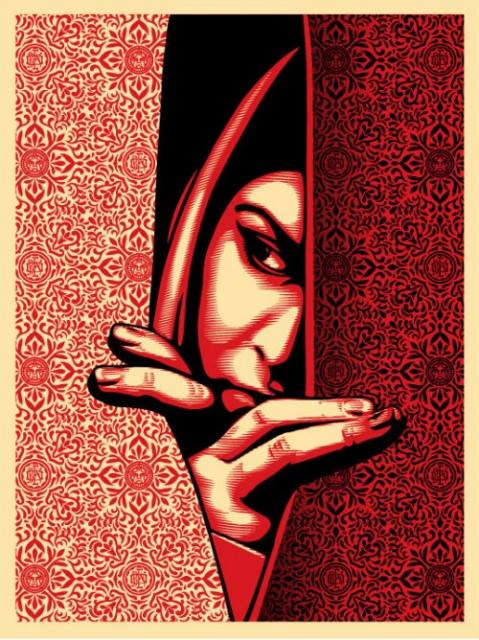 Obey 'Israel/Palestine' Edition of 450 Size: 18 x 24 Inches $45 Each