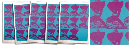 Paul Insect 'Multi Face' Blue Edition Size: 19.5 x 27 Inches $184.34 Each