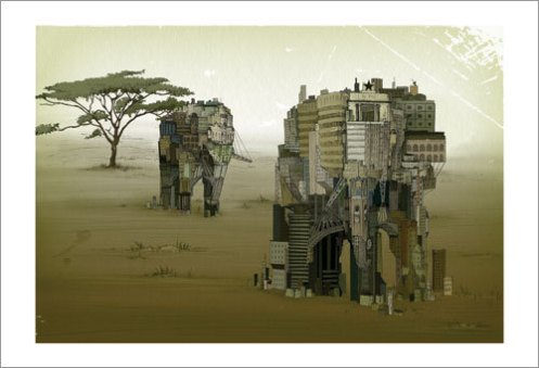 Andrea Offermann 'Africa' Edition of 100 Size: 19 x 13 Inches $45 Each