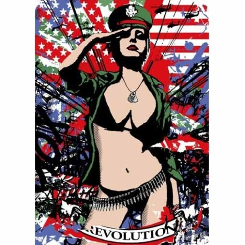Copyright 'American Evolution' Edition of 75 Size: 50 x 70 cm £75 Each