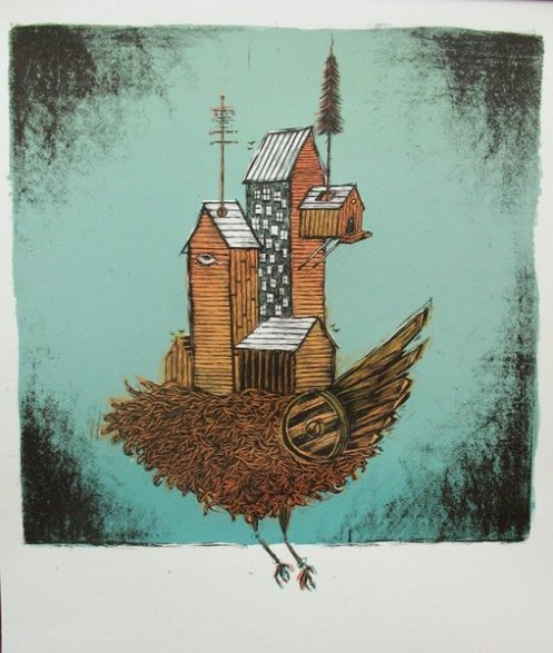 Dan Grzeca 'Lost Coastlines' Edition of 175 Size: 19 x 25 $37 Each