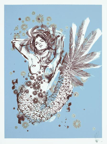 Kelsey Brokes 'Mermaid' Edition of 140 Size: 56 x 75cm Each