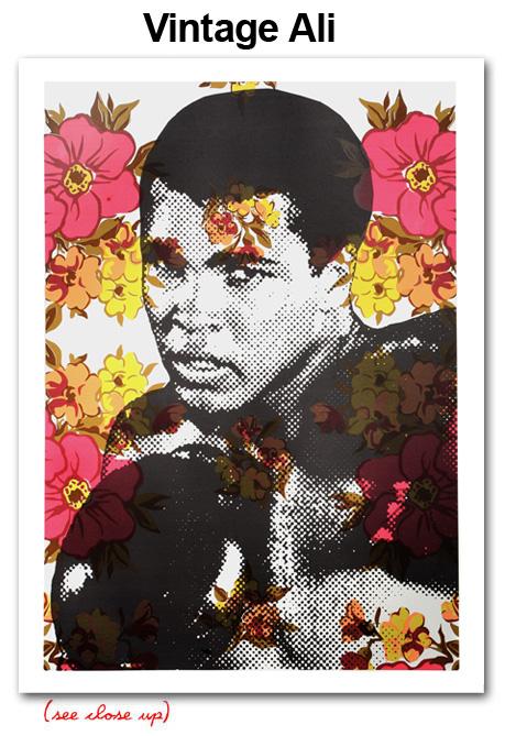 Mr Brainwash 'Vintage Ali' Edition of 35 Size: 22 x 30 Inches $300 Each