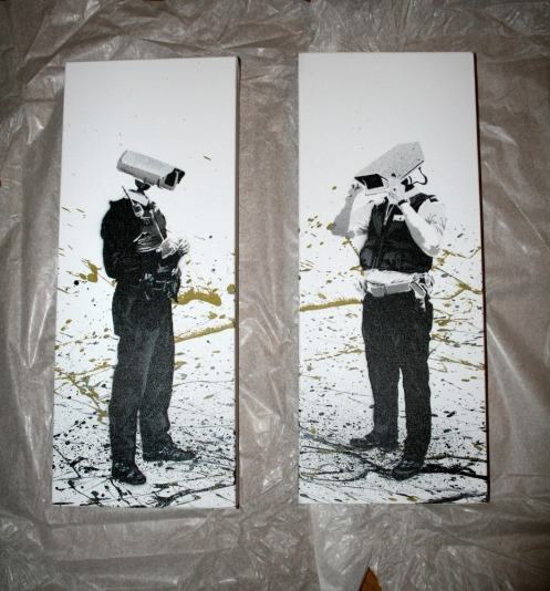 SPQR 'Revenue Collection Agents' Edition of 5 Size: 8 x 20 Inches (x2) £75 Each