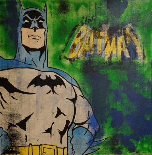 Jonathon Kimbrell 'Batman For President' Size: 61 x 61 cm £400