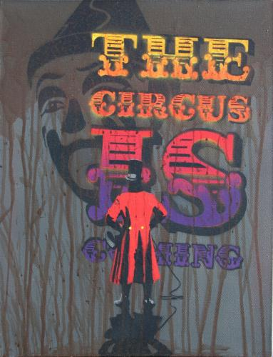 Agent Provocateur 'The Circus Is Coming' Size: 14 x 18 Inches £400 Each