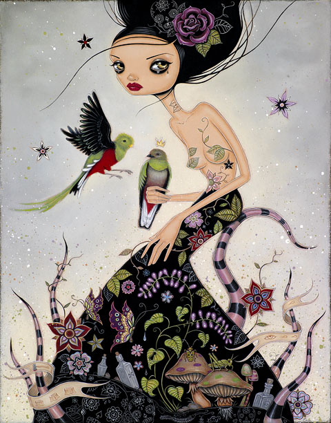 Caia Koopman 'Quetzals' Limited Edition Size: 11 x 14 Inches $90 Each