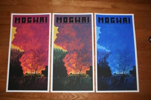 Daniel Danger 'Mogwai' Concert Posters