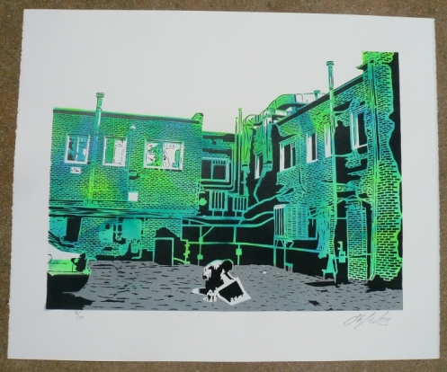 Ian Millard 'Alley Attack' 2 Versions Available