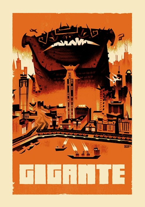 Kevin Dart 'Gigante' Open Edition 13.5 x 18 Inches $20 each
