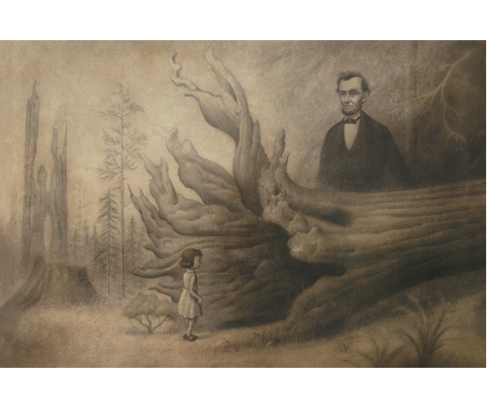 Mark Ryden 'Tree Of Mystery' Edition of 40 Size: 28 x 21 Inches $4000 Each