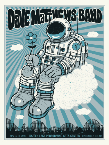 Methane 'Dave Matthews Band' Edition of 400 Sixe 18 x 24 Inches $40 Each