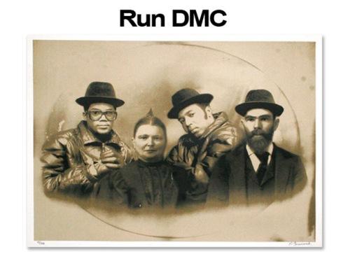 Mr Brainwash 'RUN DMC' Edition of 300 Size: 30 x 22 Inches $100 Each