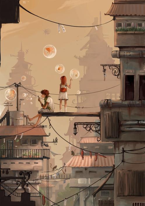 Rozefire 'City Escape' From Deviant Art