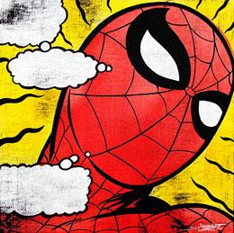 Jonathon Kimbrell 'Spiderman' Size: 61 x 61 cm £600