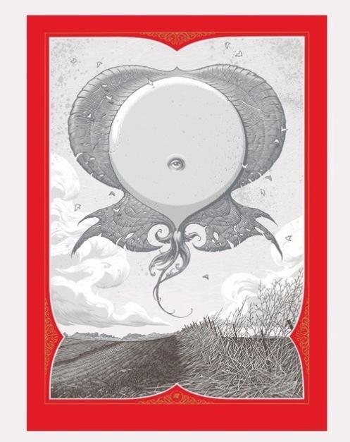 Aaron Horkey 'Eryops Rising' Mega Fauna Edition of 80