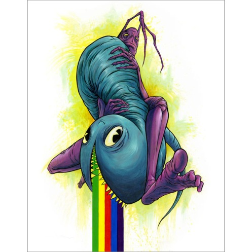 Alex Pardee 'Mr Suffin' Edition of 50 Size: 16 x 20 Inches $60 Each