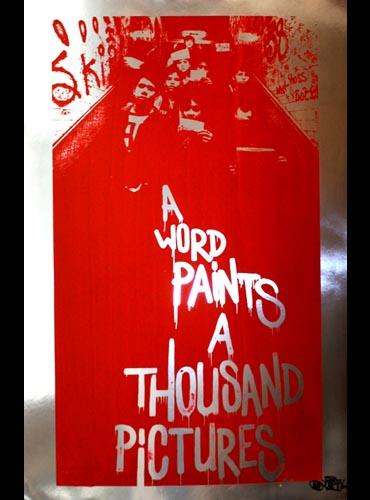 Cept 'A Word Paints A Thousand Pictures' A/P £250
