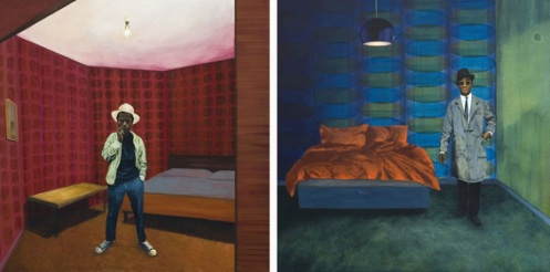 Jane Macartney 'Room 1' + 'Room 2' Edition of 25 Size: 30 x 30 Inches £25 Each