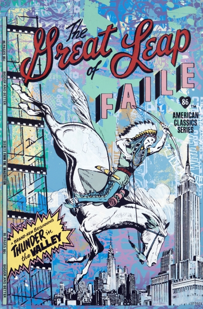 Faile 'The Great Leap' Edition of 20 Size: 25 x 30 Inches $2300 Each