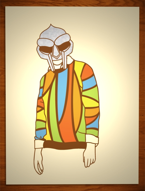 Felix Jackson Jr 'Iron Mask Or The Cosby Sweater' Edition of 50 Size: 18 x 24 Inches $30 Each