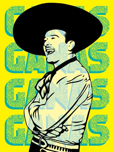 Hecho Con Granas 'Infante Granas' Size: 18 x 24 Inches $55 Each