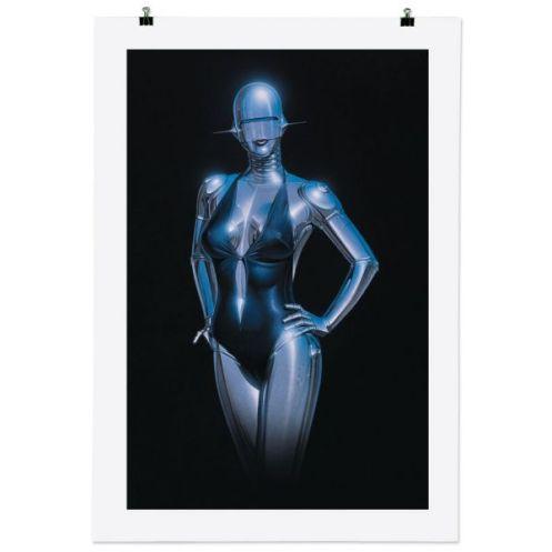 Hajime Sorayama Print Size: 70 x 100 cm €250 Each