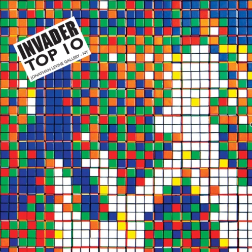 Space Invader 'Top 10' Book Edition of 600 Size: 8 x 8 Inches 64 Pages $20 Each