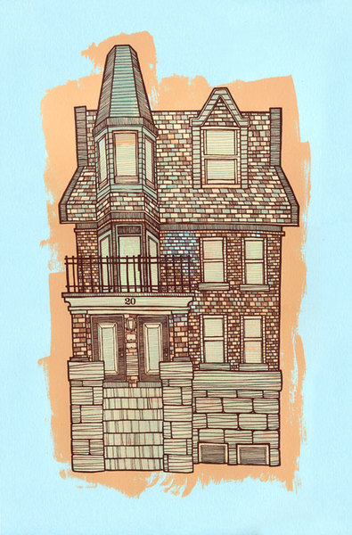 John Vogl 'House No. 20' Edition of 65 Size: 12.5 x 19 $15 Each