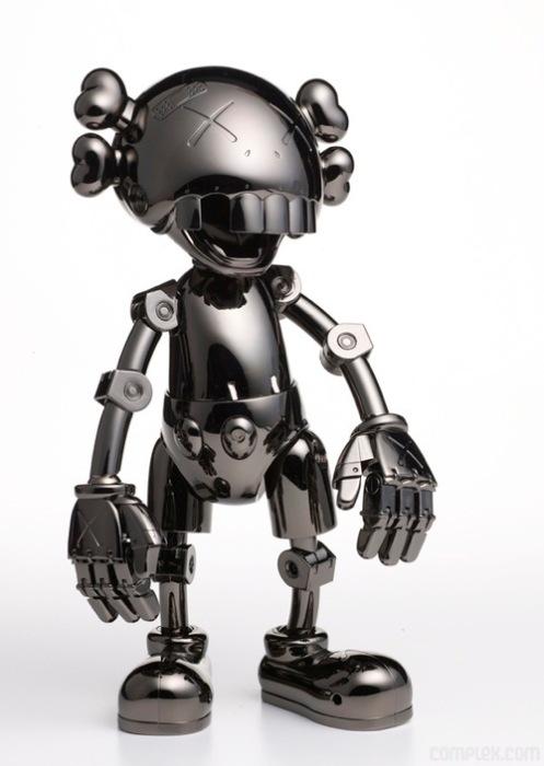 KAWS + Hajime Sorayama 'No Future Companion' Size: 13 Inches $980 USD