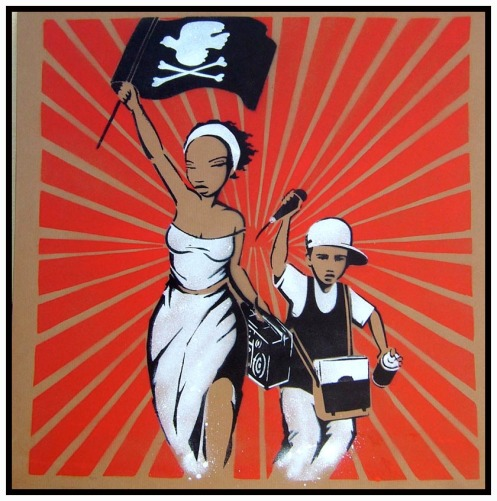 'Liberty Leading The People' Without Background Edition of 6 Size: 61 x 61 Inches £225 Each