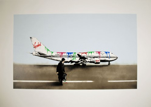 Nick Walker 'Vandal Airways'  Size: 40 x 58 cm £950 Each