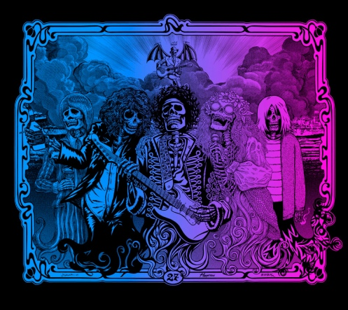 PNE '27 Club' Foil Version Edition of 27 Size: 27 x 23 Inches
