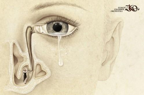 Zurich Orchestra Chamber 'Tear Drop'