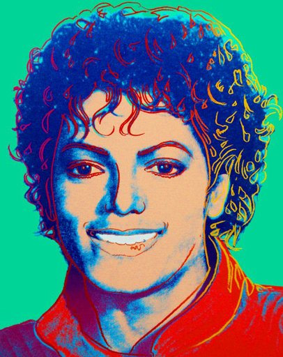 Andy Warhol 'Michael Jackson' Size: 26 x 30 Inches $800,000