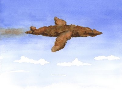 Bill Zeman 'Poo Poo Airplane' Size: 10.4 x 7 Inch Giclee $30 EAch