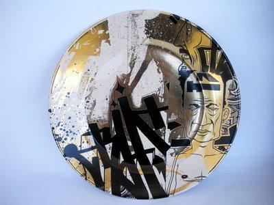Dave Kinsey 'Fame Festival' Ceramic Plate