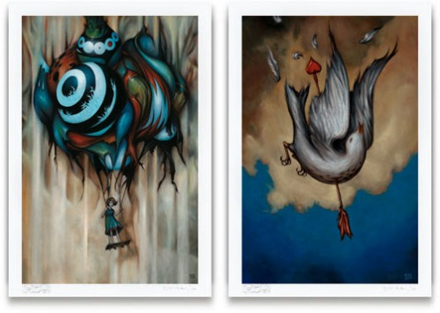 Esao Andrews '2 Summer Prints' Size: 11 x 16 Inches $100ish