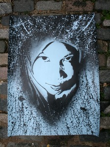 'Amina' Blue Edition of 20 Size: 30 x 24 Inches £70