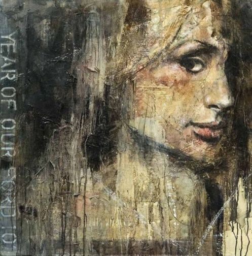 Guy Denning 'Fucked Up Celebrity # 3' Size: 30 x 30 Inches £25 Each