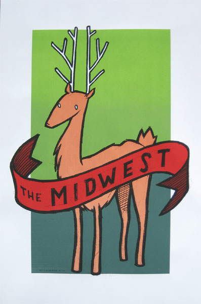 Jay Ryan 'The Midwest' Edition of 330 Size: 25 x 38 Inches $30 Each
