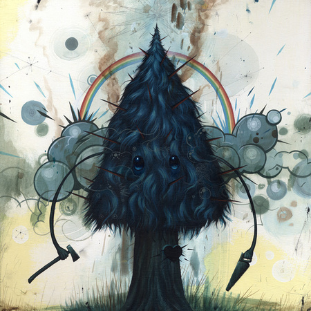 Jeff Soto 'Self Destructive' Edition of 200 Size: 5 x 5 Inches $20 Each
