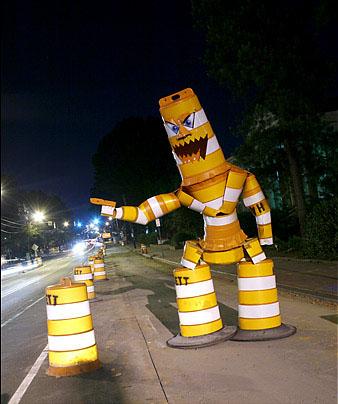 Joseph Carnivale 'Barrel Monster'